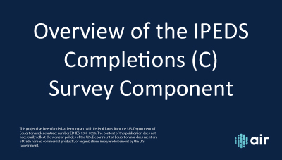 Completions Overview