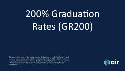 Graduation Rates 200% Overview