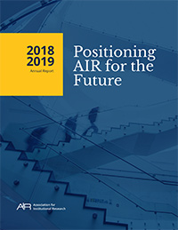 2018-2019 AIR Annual Report