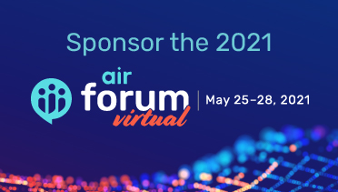 2021 AIR Forum Virtual Sponsorships