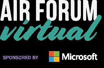 AIR Forum Virtual sponsored by Microsoft