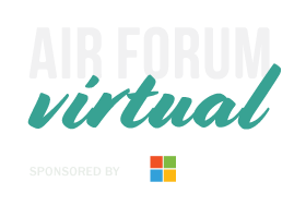 AIR Forum Virtual sponsored by Microsoft