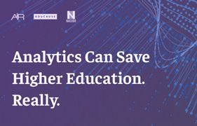 See the Joint Statement on analytics from AIR | EDUCAUSE | NACUBO.