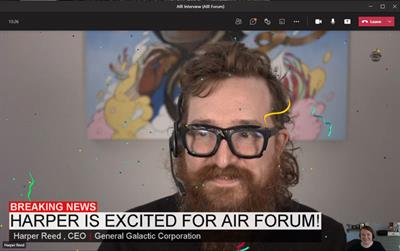 Harper Reed is excited for the 2021 AIR Forum Virtual