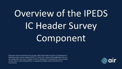 IC Header Overview