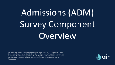 ADM-Overview
