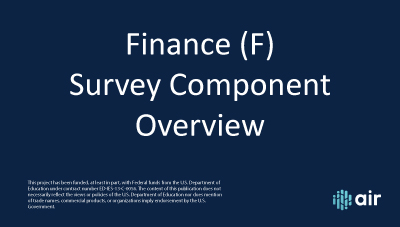 F-Finance-Overview