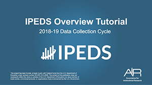 IPEDS-Overview
