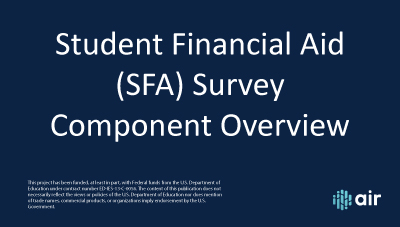 SFA-Overview